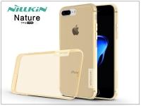 Apple iPhone 7 Plus szilikon hátlap   Nillkin Nature   aranybarna eladó