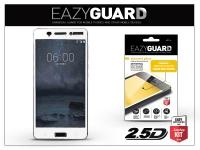 Nokia 6 gyémántüveg képernyővédő fólia   Diamond Glass 2 5D Fullcover   fehér eladó