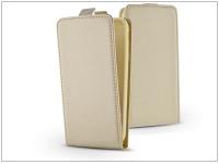 Slim Flexi Flip bőrtok   Huawei P10 Lite   gold eladó