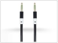 3 5   3 5 mm jack audio kábel 1 m es vezetékkel   fekete eladó