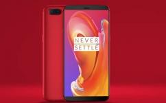 OnePlus 5T 128Gb Piros Dual Sim 8 GB RAM eladó