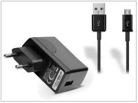 Huawei gyári USB hálózati töltő adapter  +  micro USB adatkábel 80 cm es vezetékkel   5V 1A   HW 050100E1W black (ECO csomagolás) eladó
