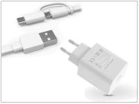 Huawei gyári USB hálózati töltő adapter  +  Type C adatkábel   5V 2A 4 5V 5A   SuperCharge HW 050450E00  +  AP55S Type C 2 0 w (ECO csomagolás) eladó