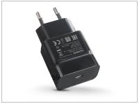 Huawei gyári hálózati töltő adapter Type C bemenettel   5V 3A   HW 050300E00 black (ECO csomagolás) eladó