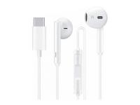 Huawei gyári sztereó headset USB Type C csatlakozóval   Huawei CM33   fehér (ECO csomagolás) eladó
