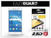 Huawei Y7 Y7 Prime gyémántüveg képernyővédő fólia   Diamond Glass 2 5D Fullcover   fehér eladó