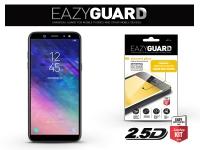 Samsung A600F Galaxy A6 (2018) gyémántüveg képernyővédő fólia   Diamond Glass 2 5D Fullcover   fekete eladó