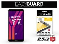 Huawei Y7 (2018) Huawei Y7 Prime (2018) Honor 7C gyémántüveg képernyővédő fólia   Diamond Glass 2 5D Fullcover   fekete eladó