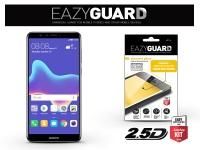 Huawei Y9 (2018) gyémántüveg képernyővédő fólia   Diamond Glass 2 5D Fullcover   fekete eladó