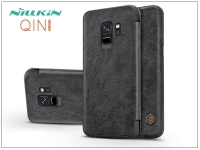 Samsung G960F Galaxy S9 oldalra nyíló flipes tok   Nillkin Qin   fekete eladó