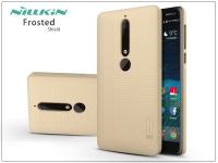 Nokia 6 (2018) hátlap képernyővédő fóliával   Nillkin Frosted Shield   gold eladó
