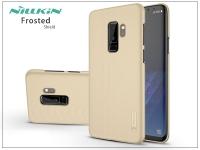 Samsung G965F Galaxy S9 Plus hátlap képernyővédő fóliával   Nillkin Frosted Shield   gold eladó