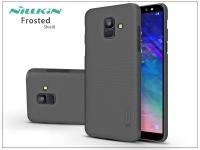 Samsung A600F Galaxy A6 (2018) hátlap   Nillkin Frosted Shield   fekete eladó