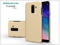 Samsung A605 Galaxy A6 Plus (2018) hátlap képernyővédő fóliával   Nillkin Frosted Shield   gold eladó