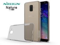 Samsung A600F Galaxy A6 (2018) szilikon hátlap   Nillkin Nature   szürke eladó