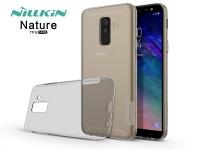 Samsung A605 Galaxy A6 Plus (2018) szilikon hátlap   Nillkin Nature   szürke eladó