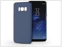 Samsung G950F Galaxy S8 szilikon hátlap   Soft   kék eladó