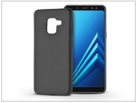 Samsung A530F Galaxy A8 (2018) szilikon hátlap   Soft   fekete eladó