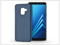 Samsung A530F Galaxy A8 (2018) szilikon hátlap   Soft   kék eladó