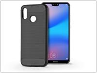 Huawei P20 Lite szilikon hátlap   Carbon   fekete eladó