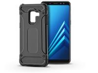 Samsung A530F Galaxy A8 (2018) ütésálló hátlap   Armor   fekete eladó