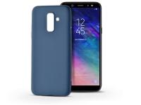 Samsung A605 Galaxy A6 Plus (2018) szilikon hátlap   Soft   kék eladó
