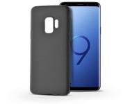 Samsung G960F Galaxy S9 szilikon hátlap   Soft   fekete eladó