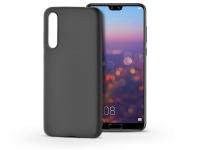 Huawei P20 Pro szilikon hátlap   Soft   fekete eladó