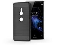 Sony Xperia XZ2 (H8216 H8276 H8266 H8296) szilikon hátlap   Carbon   fekete eladó