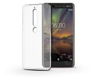 Nokia 6 (2018) szilikon hátlap   Ultra Slim 0 3 mm   transparent eladó