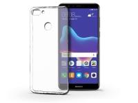 Huawei Y9 (2018) szilikon hátlap   Ultra Slim 0 3 mm   transparent eladó