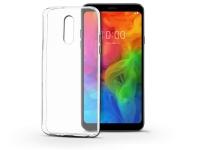 LG Q7 Q610 szilikon hátlap   Ultra Slim 0 3 mm   transparent eladó