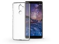 Nokia 7 Plus szilikon hátlap   Ultra Slim 0 3 mm   transparent eladó