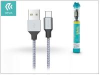 Devia USB töltő  és adatkábel 1 m es vezetékkel   Devia Tube for Type C USB 2 4A eladó
