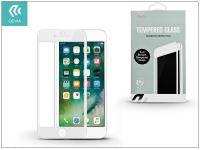 Apple iPhone 7 Plus iPhone 8  üveg képernyő   +  Crystal hátlapvédő fólia   Devia Full Screen Tempered Glass 0 26 mm   1  +  1 db csomag   white eladó