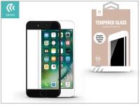 Apple iPhone 7 8 üveg képernyő   +  Crystal hátlapvédő fólia   Devia Full Screen Tempered Glass 0 26 mm   Anti Glare   1  +  1 db csomag   black eladó