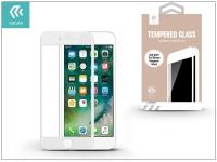 Apple iPhone 7 8 Plus üveg képernyő +  Crystal hátlapvédő fólia   Devia Full Screen Tempered Glass 0 26 mm   Anti Glare   1 + 1 db csomag  white eladó