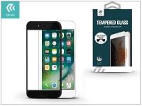 Apple iPhone 7 8 Plus üveg képernyő   +  Crystal hátlapvédő fólia   Devia Full Screen Tempered Glass 0 26 mm   Privacy   1 + 1 db csomag  black eladó