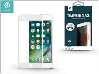 Apple iPhone 7 8 Plus üveg képernyő   +  Crystal hátlapvédő fólia   Devia Full Screen Tempered Glass 0 26 mm   Privacy   1 + 1 db csomag  white eladó