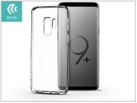 Samsung G965F Galaxy S9 Plus szilikon hátlap   Devia Naked   crystal clear eladó