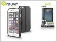 Apple iPhone 6 flipes tok   Muvit Window Folio   black eladó