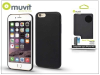 Apple iPhone 6 6S hátlap   Muvit Back Thin Case   black eladó