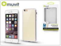 Apple iPhone 6 Plus 6S Plus hátlap   Muvit Frame TPU    clear silver eladó