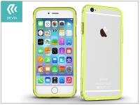 Apple iPhone 6 6S hátlap   Devia Classic Bumper   lemon green eladó