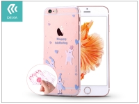Apple iPhone 6 Plus 6S Plus szilikon hátlap   Devia Vango Soft   ice bear eladó