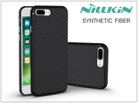 Apple iPhone 7 Plus iPhone 8 Plus hátlap   Nillkin Synthetic Fiber   fekete eladó