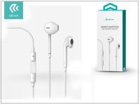 Devia univerzális sztereó felvevős fülhallgató   3 5 mm jack   Devia Smart Earpods   white eladó