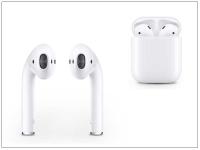 Apple AirPods eredeti gyári sztereó bluetooth headset  +  töltőtok   MMEF2ZM A   fehér eladó