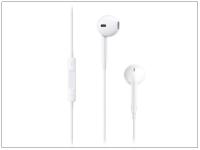Apple iPhone 3G 3GS 4 4S 5 5S 5C SE 6 6S eredeti távirányítós  sztereó headset mikrofonnal   MD827ZM A   MNHF2ZM A   fehér eladó