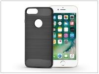 Apple iPhone 7 Plus szilikon hátlap   Carbon   fekete eladó